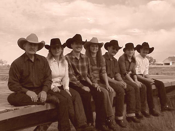 Dorer Family. Wearing our selection of hand made pure beaver, western and dress style hats